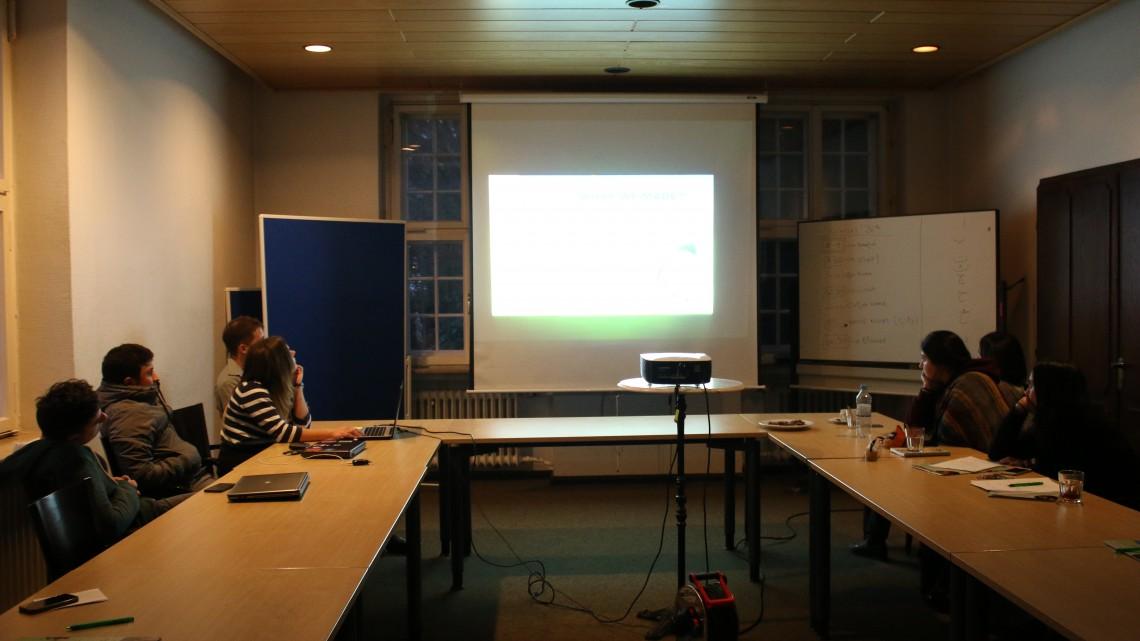 презентація в Jugendkulturarbeit