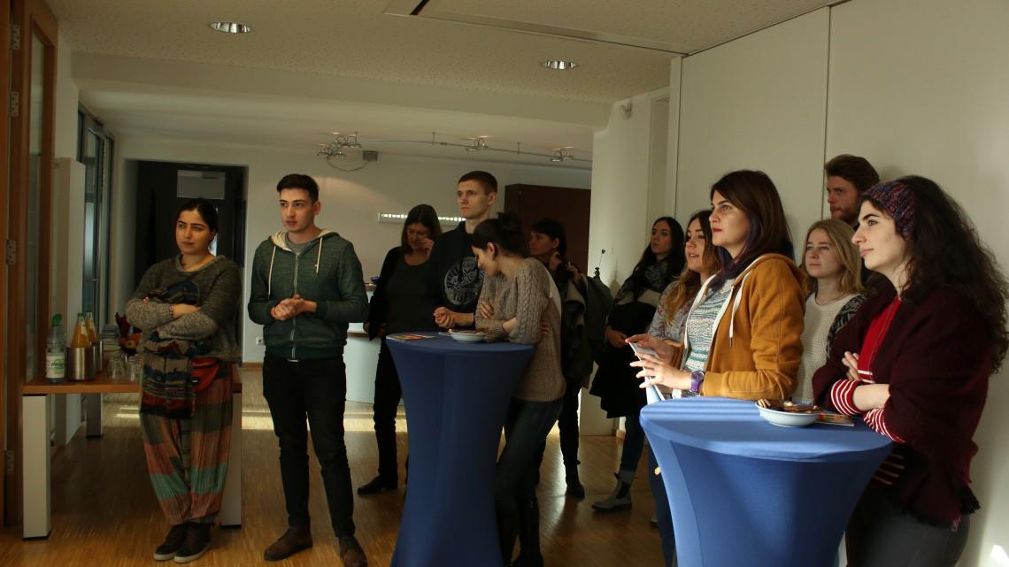 учасники на презентації Eurodesk