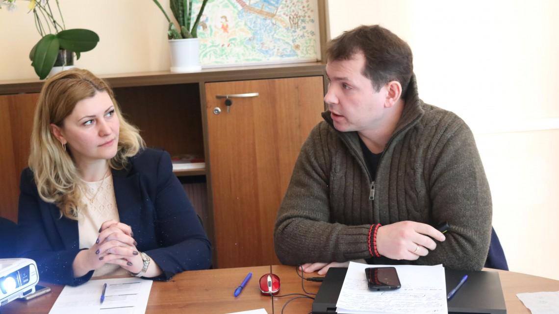 Оксана П'ятковська та Петро Чорній