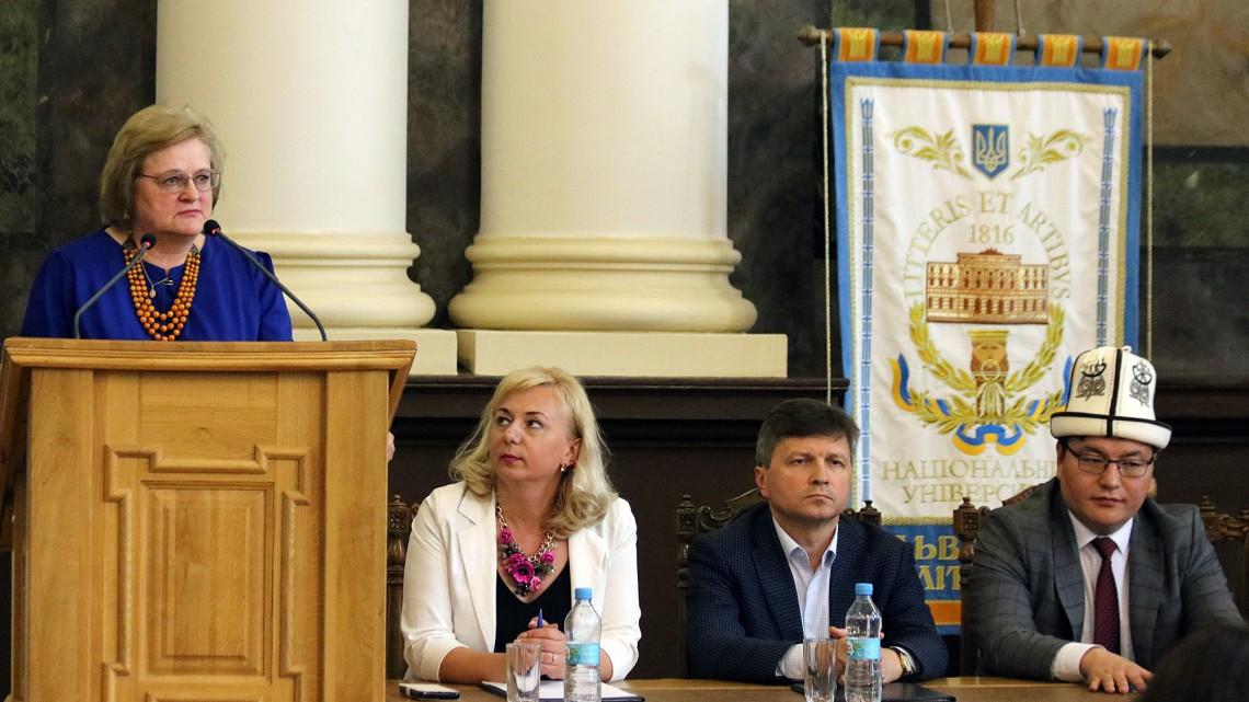 Виступає Ірина Ключковська