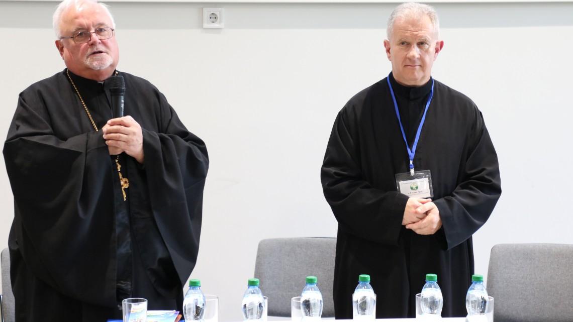 о. д-р Богдан Прах. Ректор Українського католицького університету