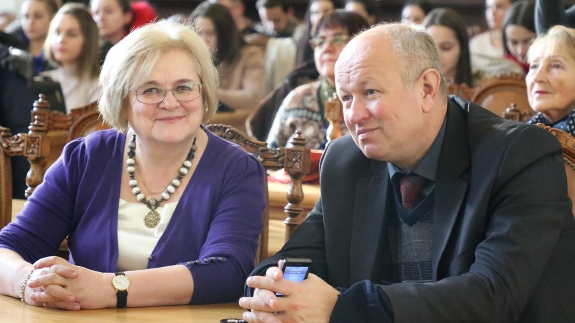 Ірина Ключковська, Володимир Скорохода