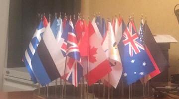 прапори країн учасників СКУ