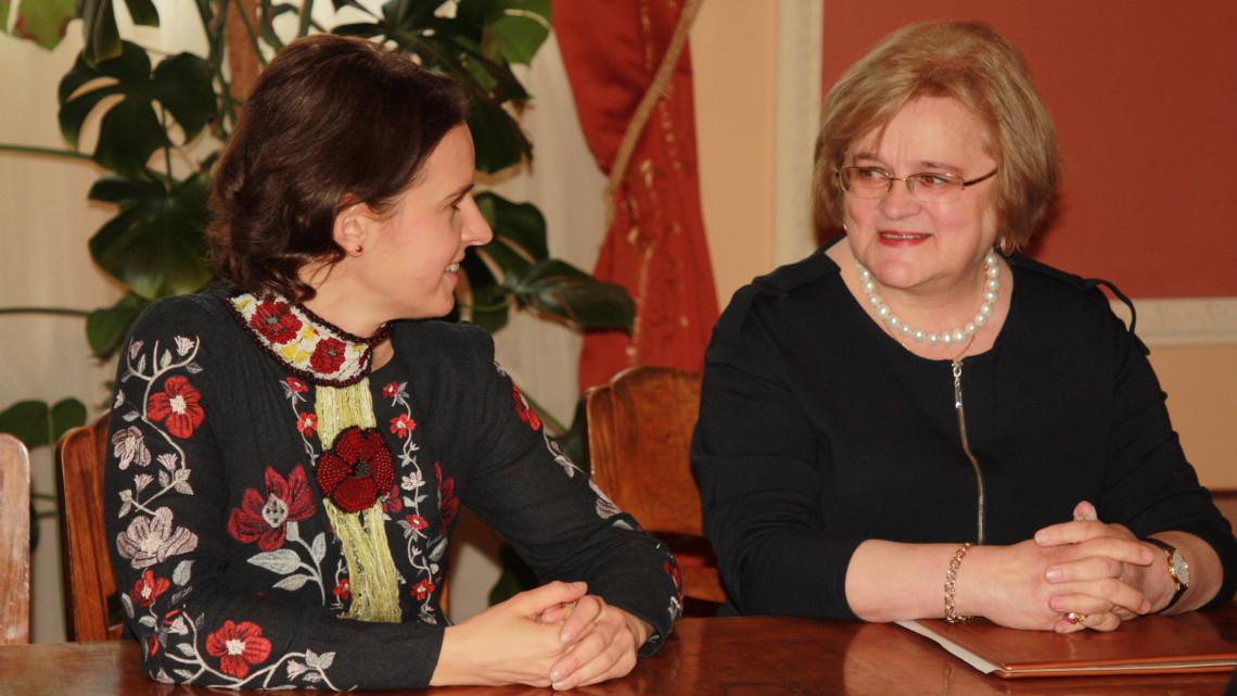 Оксана Линів та Ірина Ключковська