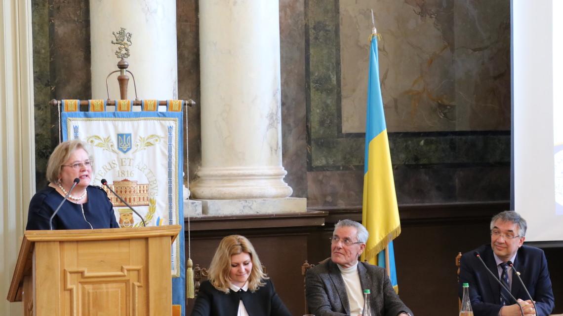Виступ Ірини Ключковської