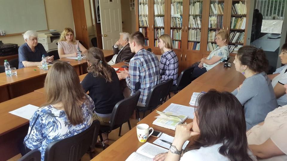 зустріч працівників МІОКу з Олегом Воловиною