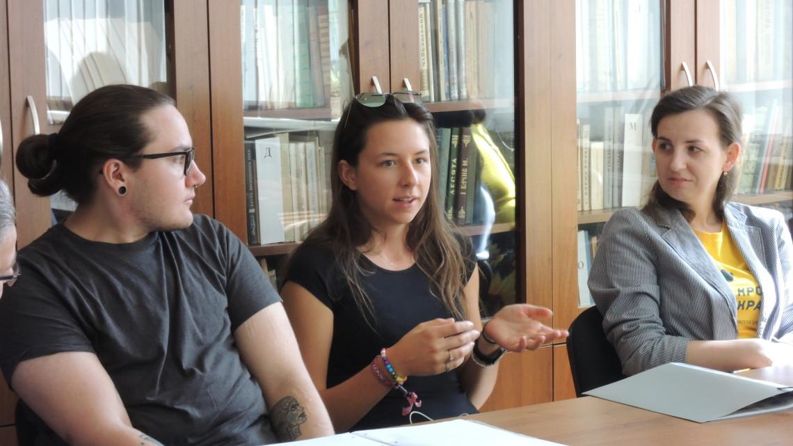 учасники XIІ Міжнародної літньої школи україністики «Крок до України»