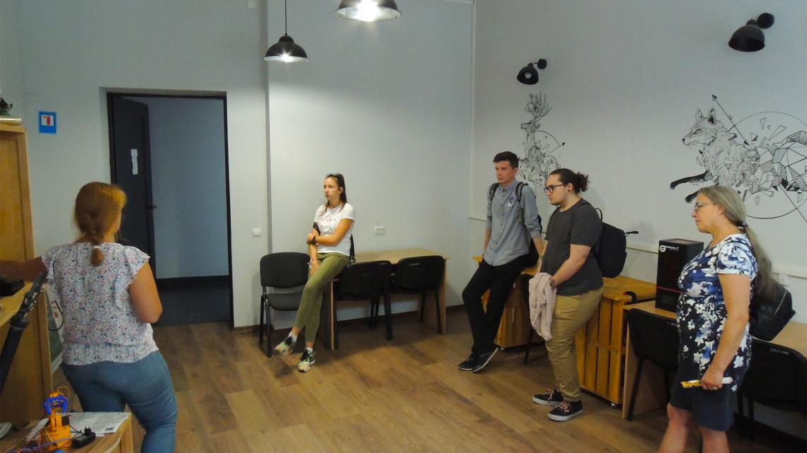 учасники Літньої школи МІОКу у старт-ап школі Львівської політехніки