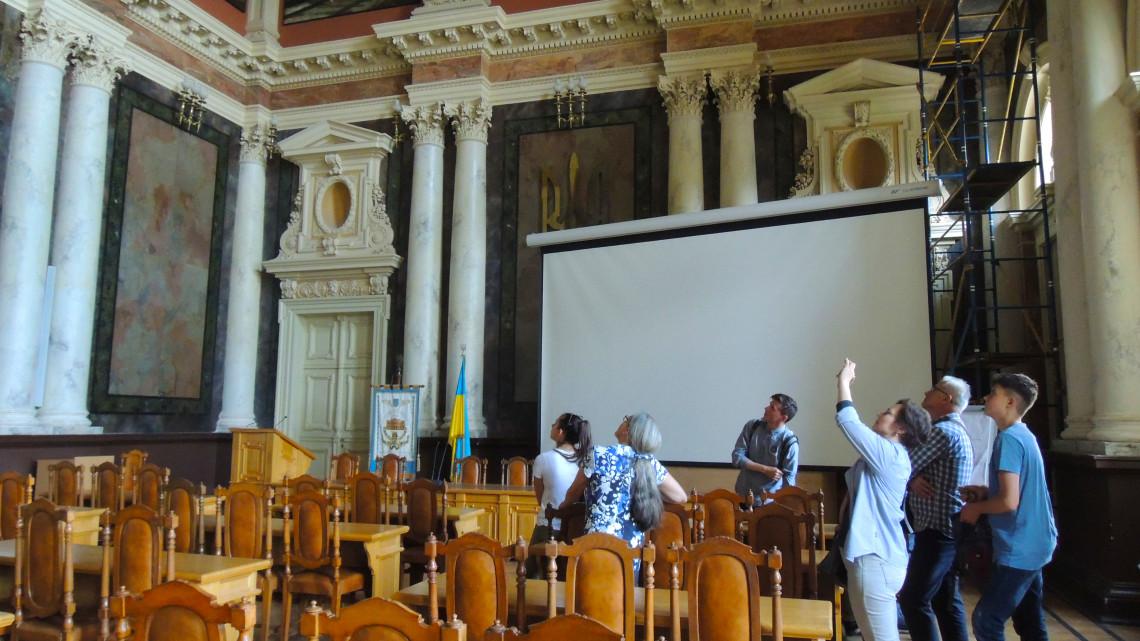 учасники літньої школи у Львівській політехніці