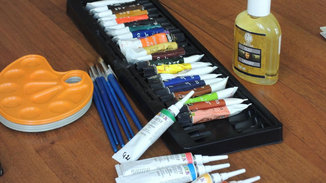 художні матеріали для майстер-класу