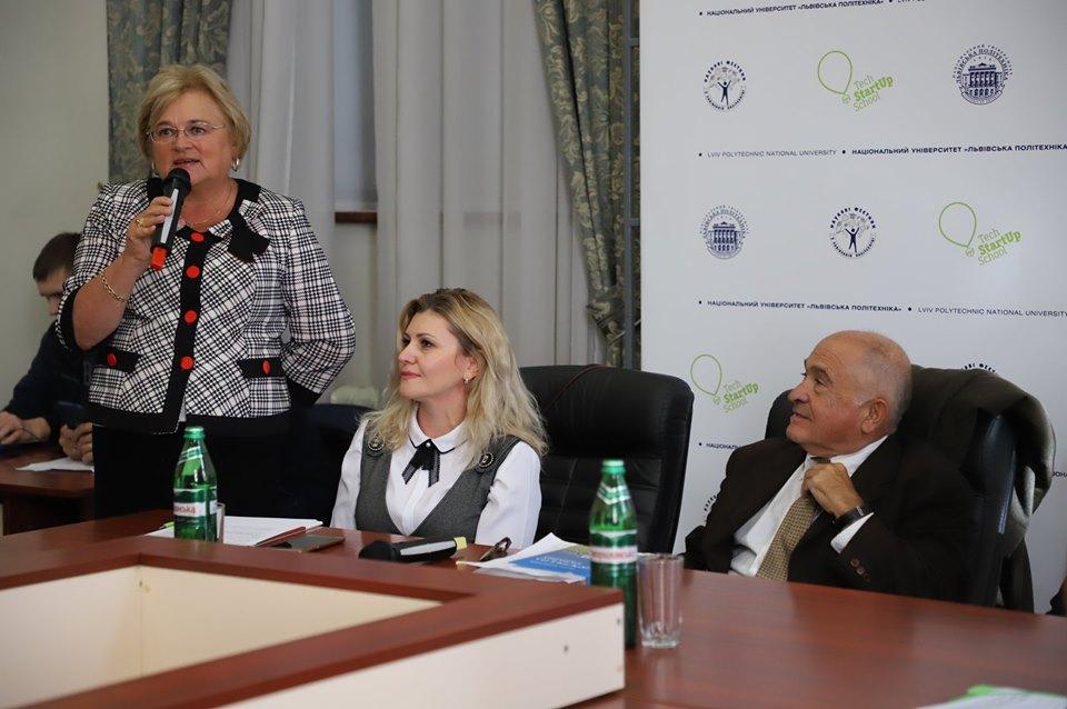 Ірина Ключковська, Оксана П'ятковська, Аскольд Лозинський.