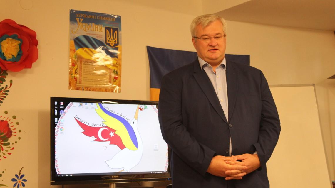 Андрій Сибіга – Надзвичайний і Повноважний Посол України в Турецькій Республіці