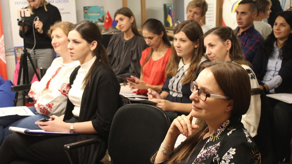 учасники Семінару-тренінгу викладачів української мови у Туреччині