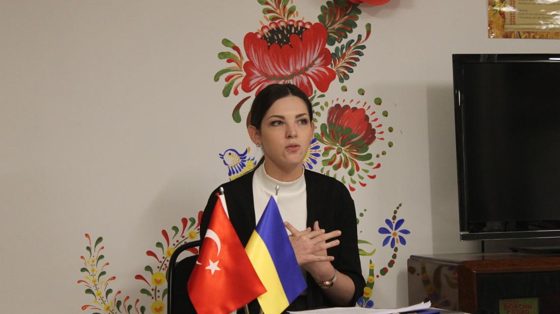 Валентина Хорунжа – керівник української суботньої школи в Анкарі