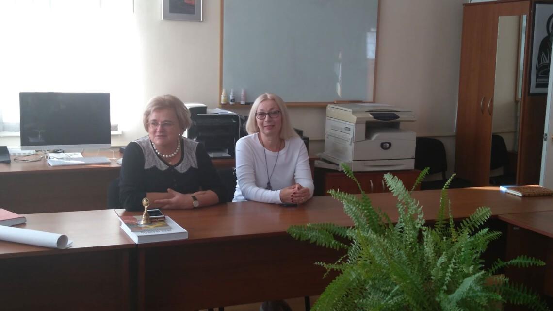 1. Ірина Ключковська і Ольга Фрю