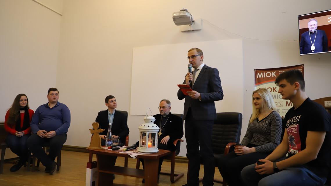 Зала під час зустрічі з Глібом Лончиною
