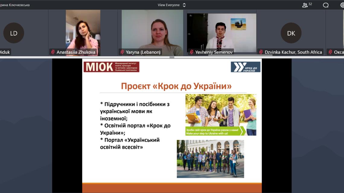 Олена Мицько говорить про Літні школи інституту