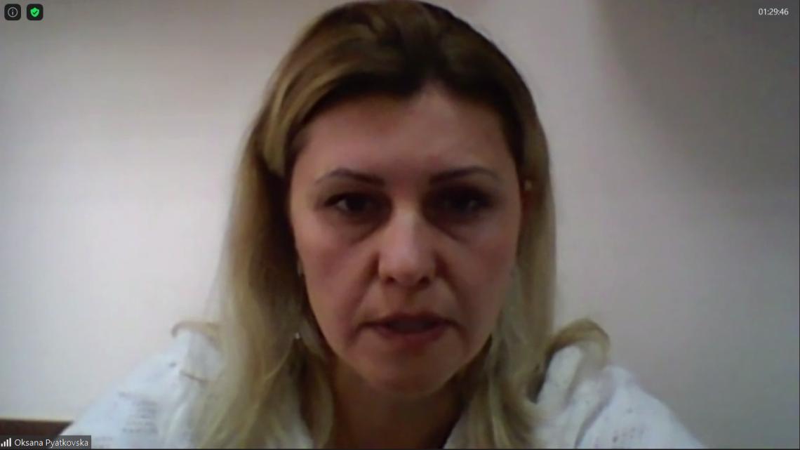 Оксана П'ятковська