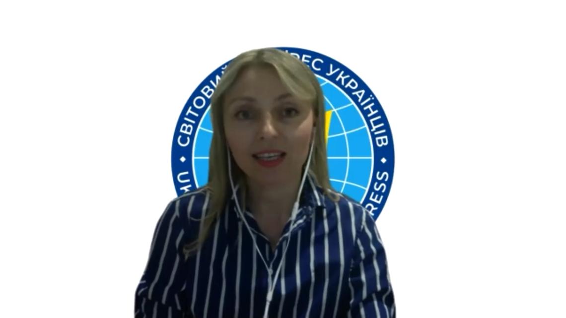 Наталія Пошивайло-Таулер, регіональна віцепрезидентка Східної, Південної та Південно-Східної Азії, Океанії та Африки Світового Конґресу Українців (Австралія, Мельбурн)