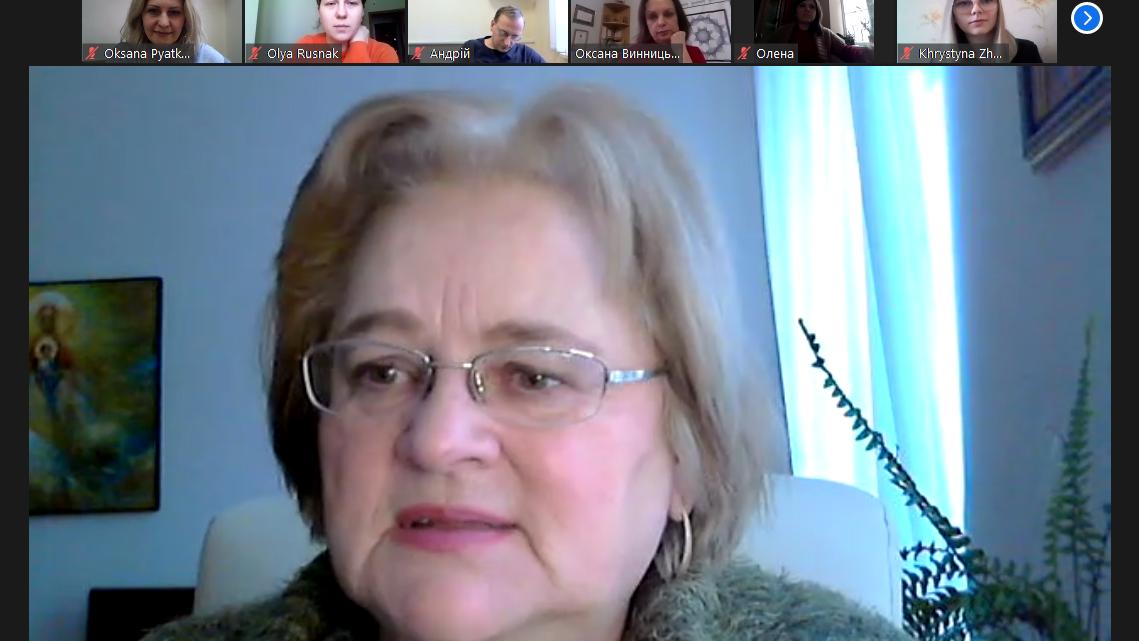 Ірина Ключковська на зустрічі з Винницькою