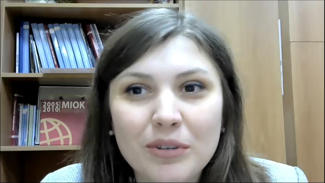 Олена Мицько, координаторка порталу «Український освітній всесвіт»