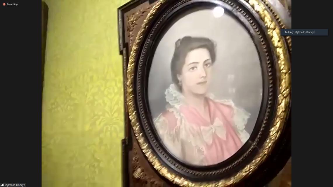 Портрет Соломії Крушельницької