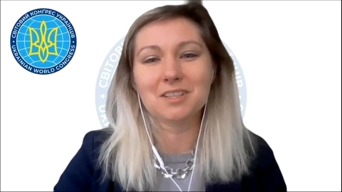 Марія Купріянова, виконавча директорка Світового Конґресу Українців