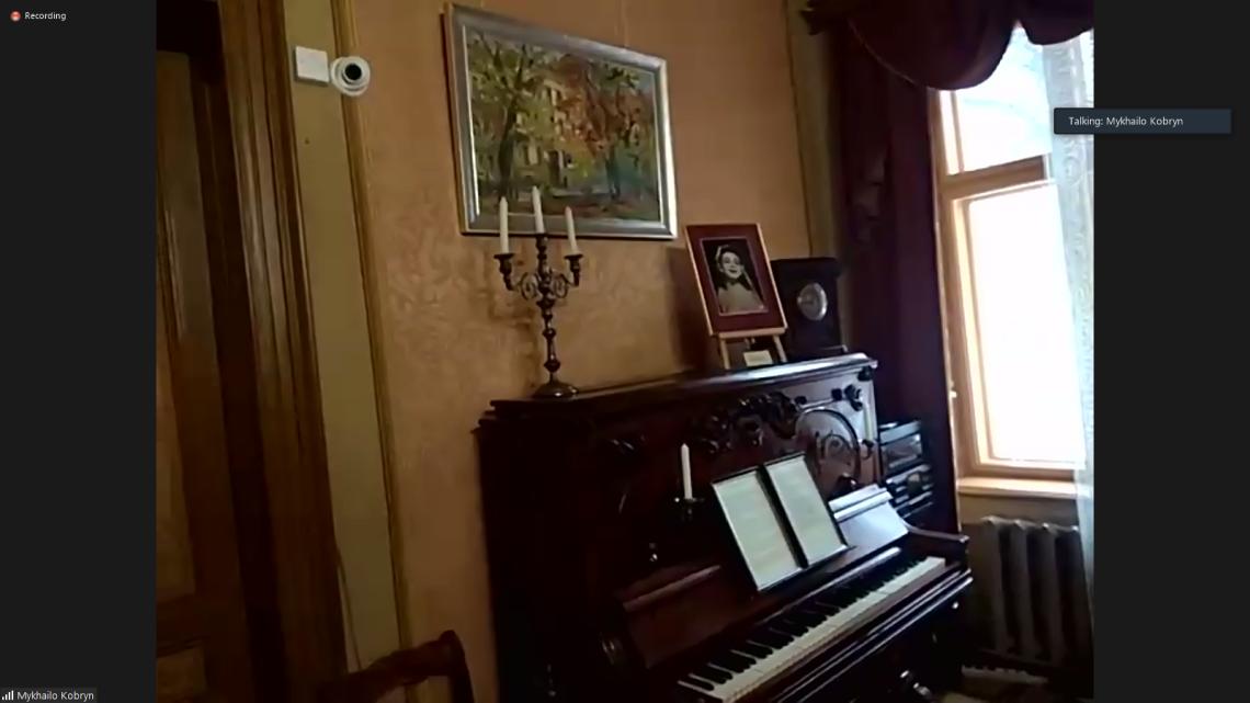 Рояль у музеї Соломії Крушельницької у Львові