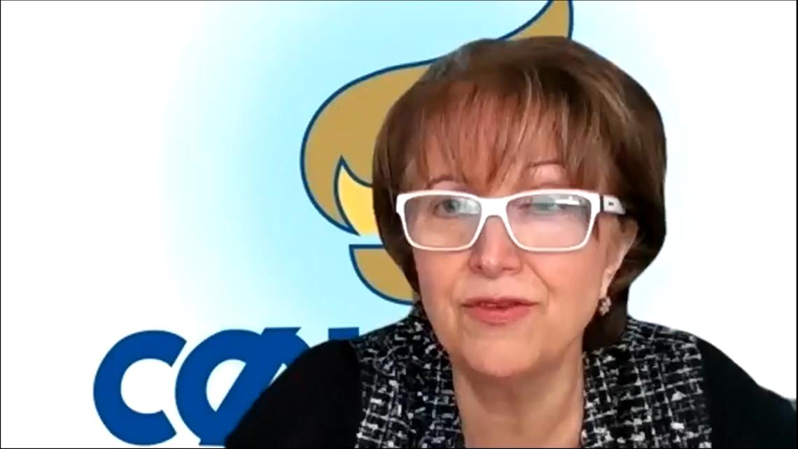 Євгенія Петрова, перша заступниця голови Світової Федерації Українських Жіночих Організацій