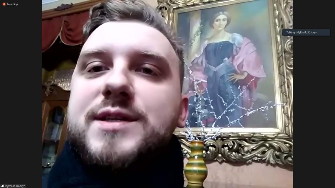 Михайло Кобрин, знаний музейник