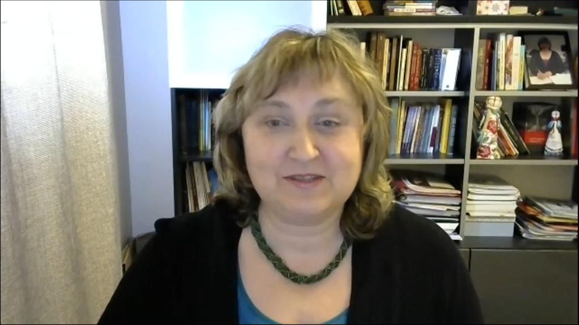 Оксана Левицька, голова Світової Координаційної Виховно-Освітньої Ради