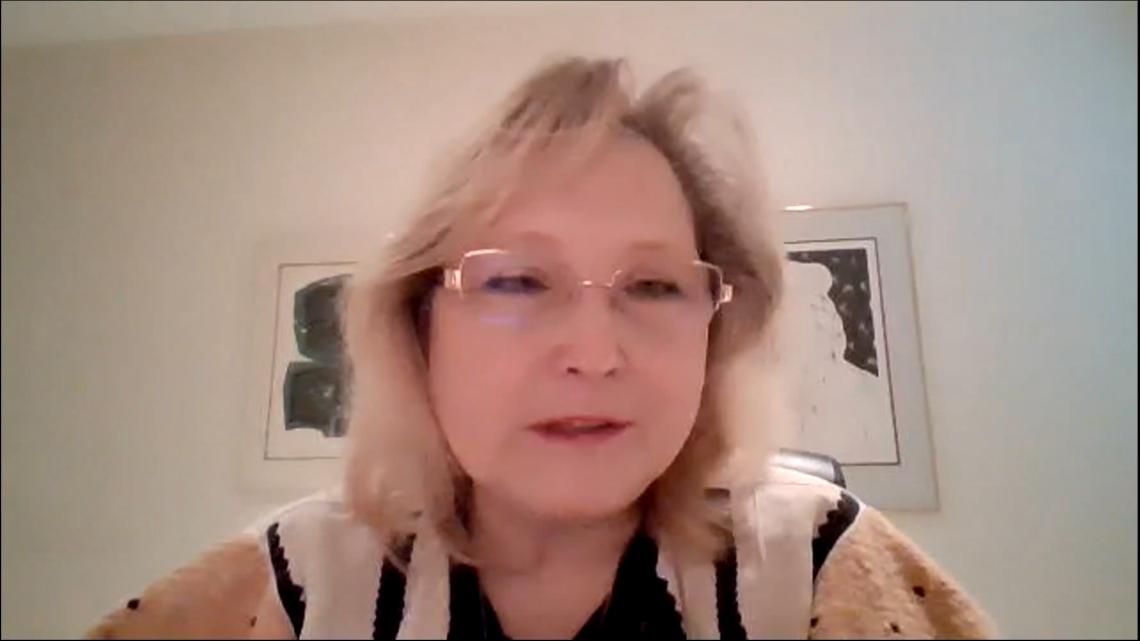 Уляна Підзамецька, докторантка Університету Глазго, наукова співробітниця Університетів провінцій Альберта та Онтаріо