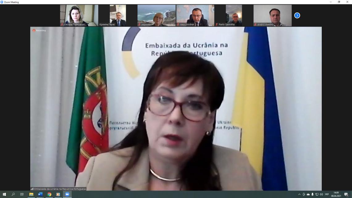Інна Огнівець – Посол України в Португальській Республіці