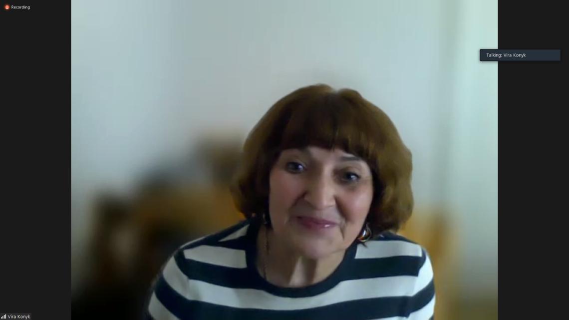 Віра Коник, регіональна віцепрезидентка Світового Конґресу Українців у Центральній та Східній Європі