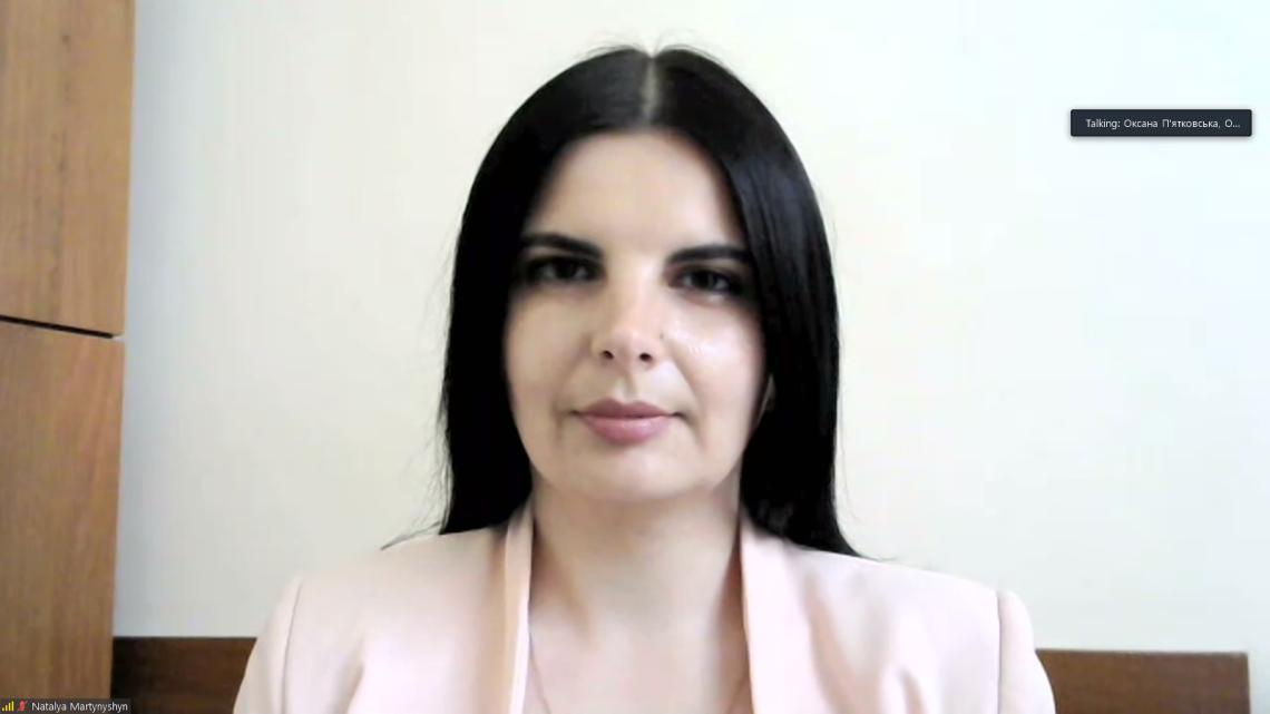Наталя Мартинишин, керівниця проєкту порталу