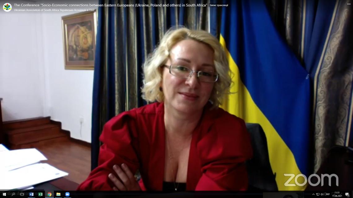 Любов Абравітова, Надзвичайний і Повноважний Посол України в ПАР