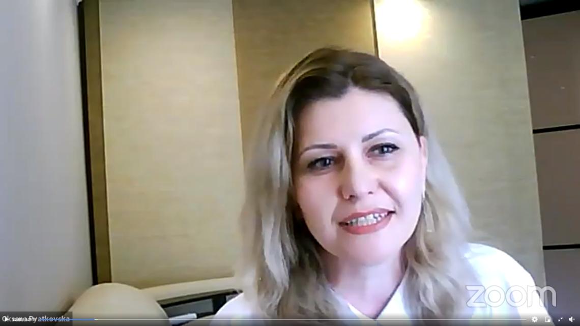 Оксана П'ятковська, заступниця директора МІОКу