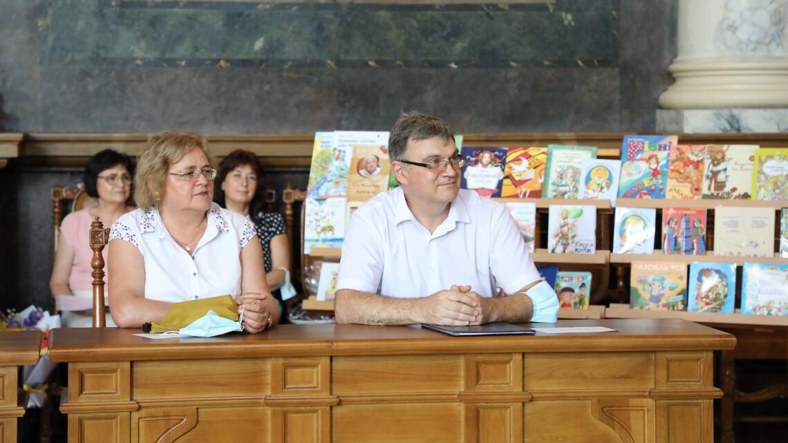 Ірина Ключковська та Олег Матвійків