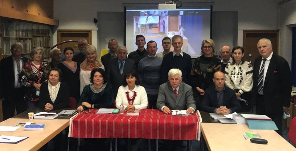 Учасники Конференції до 120-ліття української діаспори в Ховатії